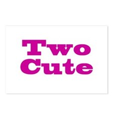 Two Cute Twins Postcards (Package of 8)