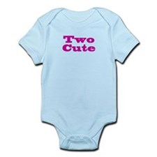Two Cute Twins Infant Bodysuit