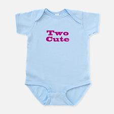 Two Cute Twins Infant Bodysuit