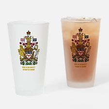 Canadian COA Drinking Glass