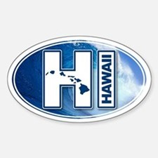 Hawaii Big Wave Decal