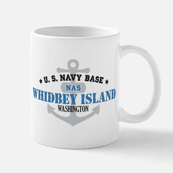 US Navy Whidbey Island Base Mug