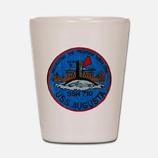 USS AUGUSTA Shot Glass