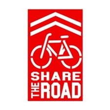 Share the Road Decal