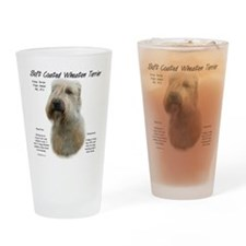 Soft Coated Wheaten Drinking Glass