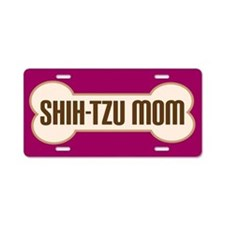 Shih-Tzu Mom Pet Gift License Plate