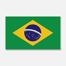 Flag of Brazil Car Magnet 20 x 12