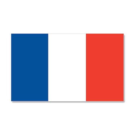 Flag of France Car Magnet 20 x 12