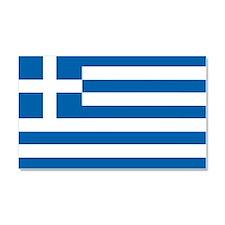 Flag of Greece Car Magnet 20 x 12
