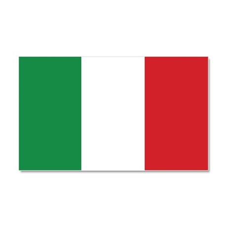 Flag of Italy Car Magnet 20 x 12