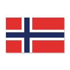 Flag of Noway Car Magnet 20 x 12