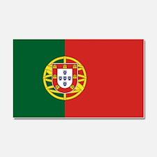 Flag of Portugal Car Magnet 20 x 12