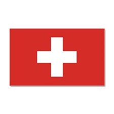 Flag of Switzerland Car Magnet 20 x 12