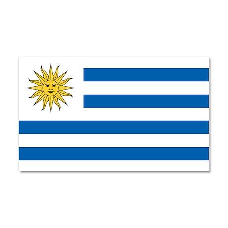 Flag of Uruguay Car Magnet 20 x 12