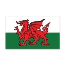 Flag of Wales Car Magnet 20 x 12