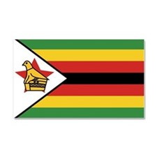 Flag of Zimbabwe Car Magnet 20 x 12