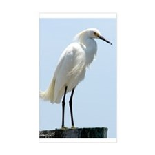 Great White Egret Decal