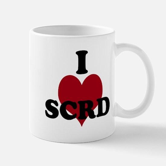 I heart SCRD Mug