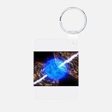 Supernova Gamma Ray Burst Keychains
