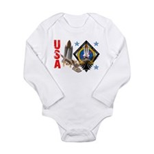 Atlantis STS 135 Long Sleeve Infant Bodysuit