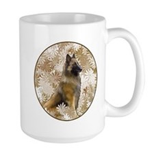 Belgian Terv In The Garden Mug