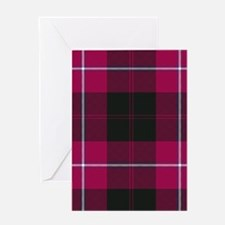 Tartan - Cunningham Greeting Card