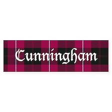 Tartan - Cunningham Bumper Sticker