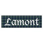 Tartan - Lamont Sticker (Bumper)