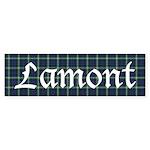 Tartan - Lamont Sticker (Bumper 10 pk)