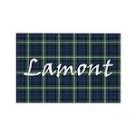 Tartan - Lamont Rectangle Magnet (100 pack)