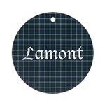 Tartan - Lamont Ornament (Round)