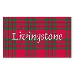Tartan - Livingstone Sticker (Rectangle)