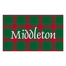 Tartan - Middleton Decal