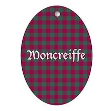 Tartan - Moncreiffe Ornament (Oval)