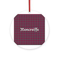 Tartan - Moncreiffe Ornament (Round)