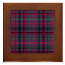 Tartan - Montgomery Framed Tile