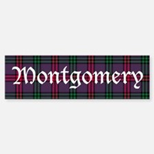 Tartan - Montgomery Bumper Bumper Sticker