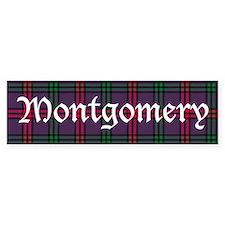 Tartan - Montgomery Bumper Sticker