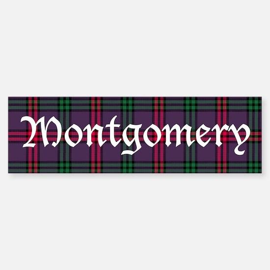 Tartan - Montgomery Sticker (Bumper)