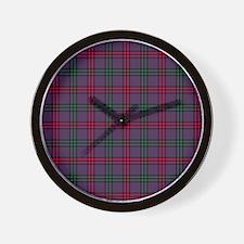Tartan - Montgomery Wall Clock