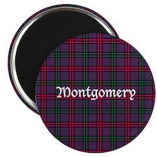 "Tartan - Montgomery 2.25"" Magnet (10 pack)"