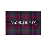 Tartan - Montgomery Rectangle Magnet (100 pack)
