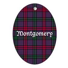 Tartan - Montgomery Ornament (Oval)
