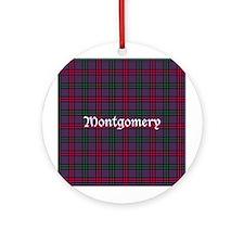 Tartan - Montgomery Ornament (Round)