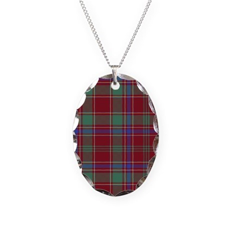 Tartan - Munro Necklace Oval Charm