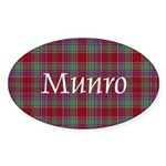 Tartan - Munro Sticker (Oval 10 pk)