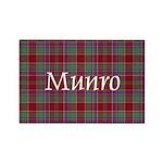 Tartan - Munro Rectangle Magnet