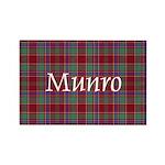 Tartan - Munro Rectangle Magnet (10 pack)