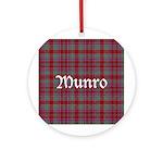 Tartan - Munro Ornament (Round)