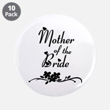 "Mother of the Bride 3.5"" Button (10 pack)"
